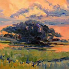 Joan Layne Title: Sunset on the James River