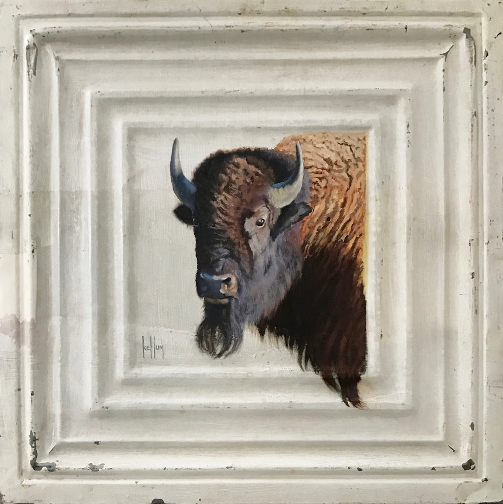 Betsy M. Kellum Title: Bearded Bison