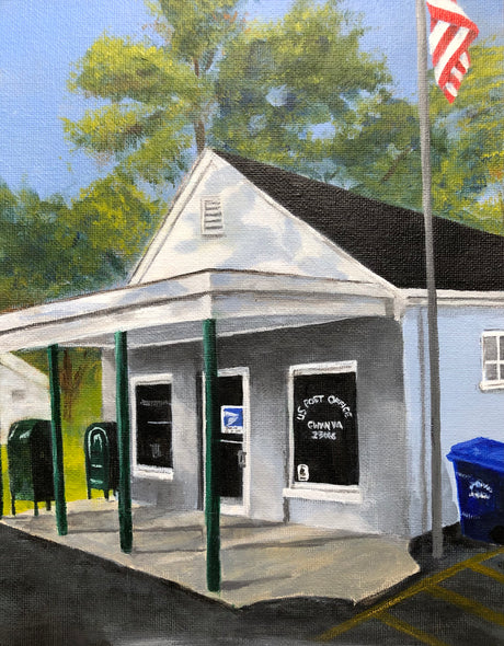 Feeley, Linda Title: Post Office at Gwynn Island