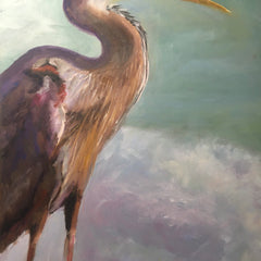 Lewis, Linda Title: Great Blue Heron