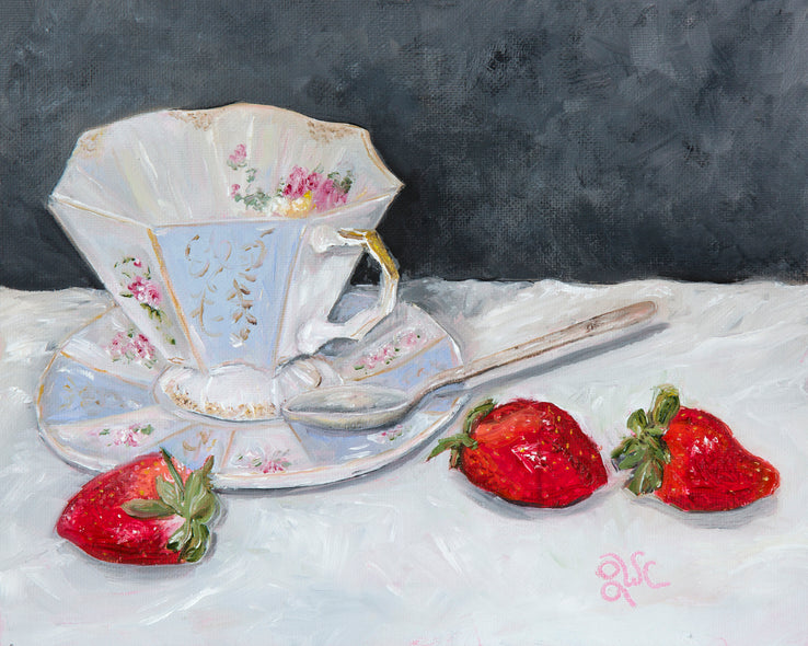 Linda W Clark Title: Afternoon Tea
