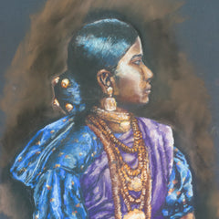 Muthulakshmi Anu Narasimhan Title: Portrait of a Nautch Girl