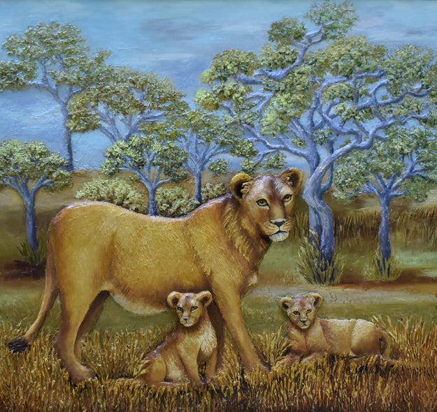 Cindy Parris Title: Mama's Pride