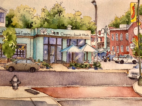 Marti Franks Title: Along Cary Street