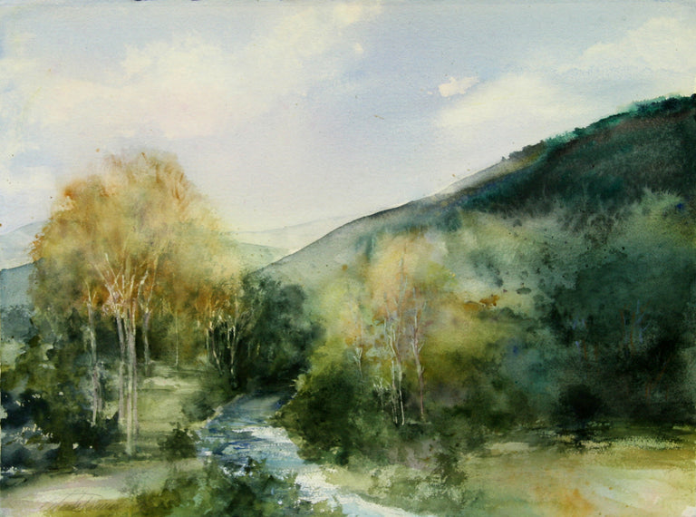 Maruta Racenis Title: Hills and Creek
