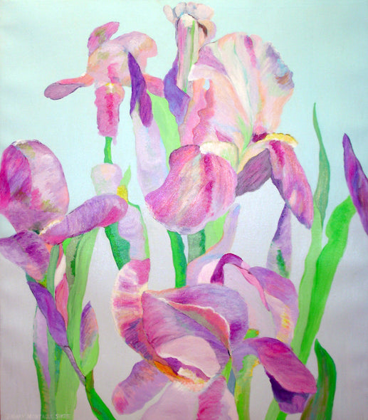 Mary Montague Sikes Title: Iris Unfolding