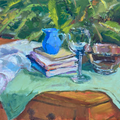 Goode, Missy Title: Still Life with Green Cloth