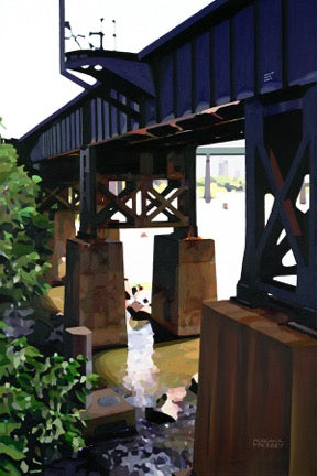 Morgan E. McKinney Title: Trestle at Brown's Island, Richmond