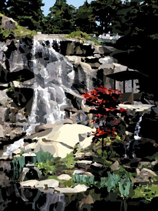 Morgan E. McKinney Title: Waterfall at Maymont, Richmond
