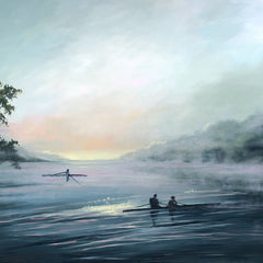 Kathy Rivera Title: Morning Mist at Robious Landing