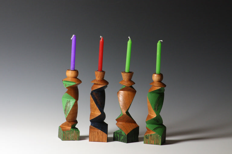 Barbara Dill Title: Multi Axis Candle Holders