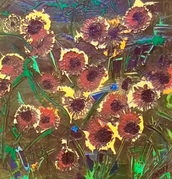 Lowell Owsley Title: Night Flowers