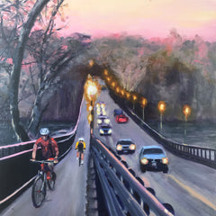 Susan Paavola Title: Nickel Bridge at Dusk