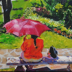 Mochary, Patty Title: Red Umbrella