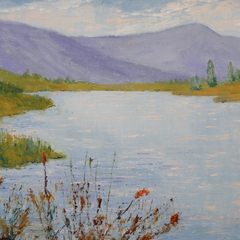 Pauline Ney Title: Mountains and Lake
