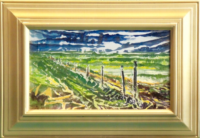 Lowell Owsley Title: Prairie Fence