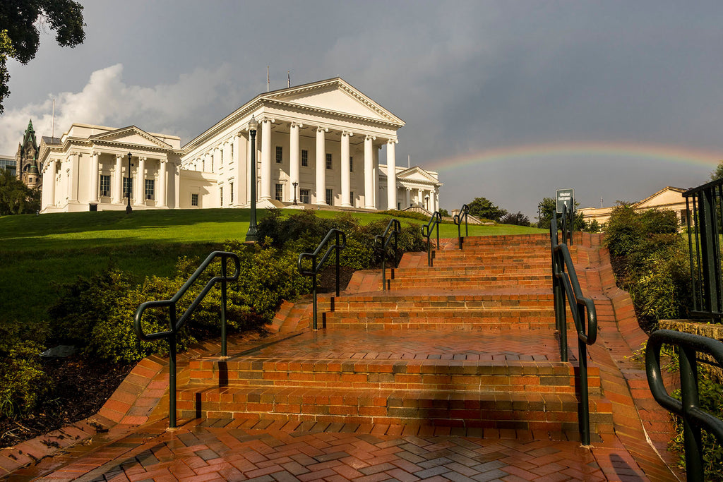David Everette Title: RVA Capitol Rainbow