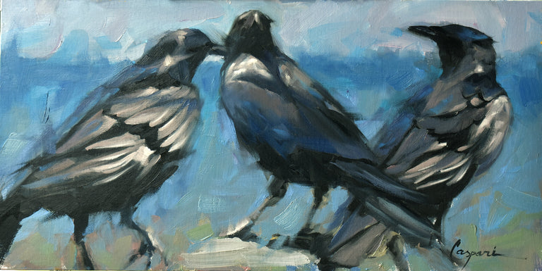 Robin Caspari Title: Three Crows