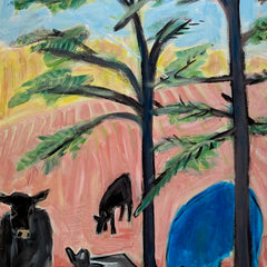 Cary, Susan Title: Pink Shade, Pink Field
