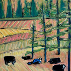 Cary, Susan Title: Under the Pines - Early Spring Pasture