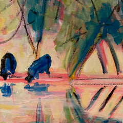 Cary, Susan Title: Reflection with Cows-FLOOSHED