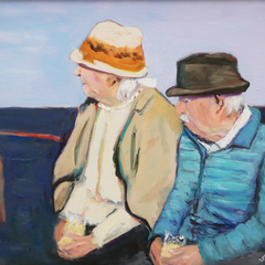 Scott Thornhill Title: Ma & Pa At The Shore