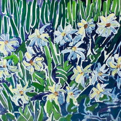 Lowell Owsley Title: Shasta Daisies
