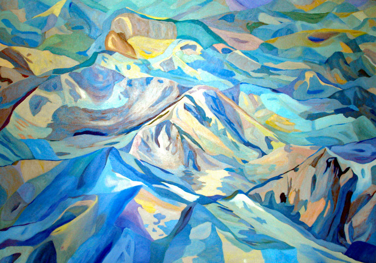 Mary Montague Sikes Title: Rocky Mt. Blue