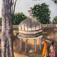 Spooner-Munch, Suzanne Title: Udaipur Cenotaphs, India