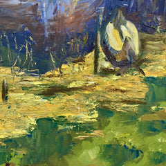 Art for the Journey - Stephanie Shanks  Title:On Lake Titicaca