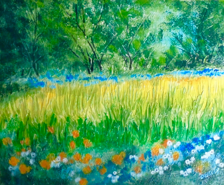 Lowell Owsley Title: Summer Meadow