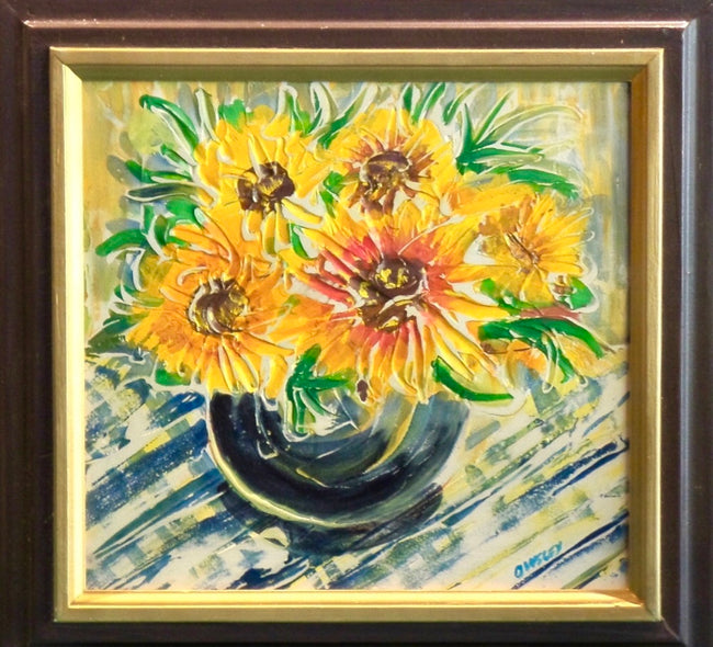 Lowell Owsley Title: Sunflowers