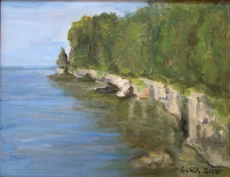 Susan Dull Title: Along the Cliffs