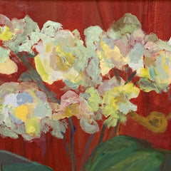 Susan Dull Title: Orchids in a Stream