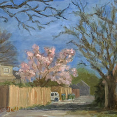 Susan Dull Title: Spring Comes to the Alley