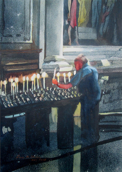 Susan Stuller Title: A Candle for Mom