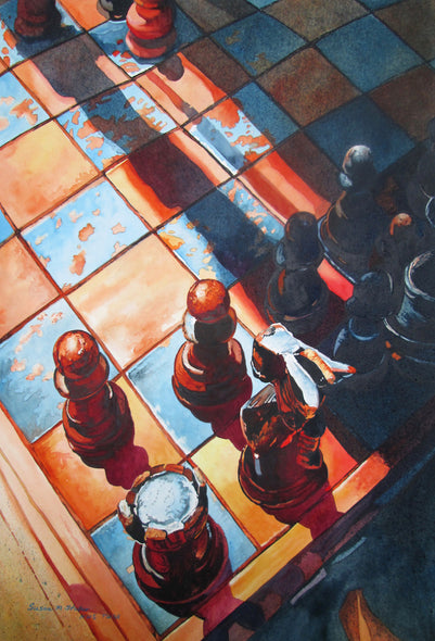 Susan Stuller Title: Checkmate