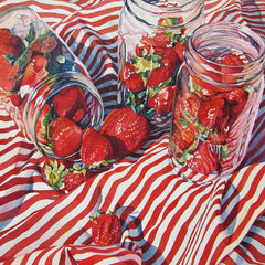Susan Stuller Title: Strawberry Jamming Too