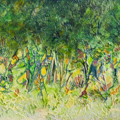 Lowell Owsley Title: Swamp Trees