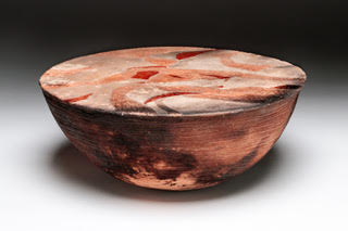 Copy of Kay Franz Title: Swirl Drum Pot
