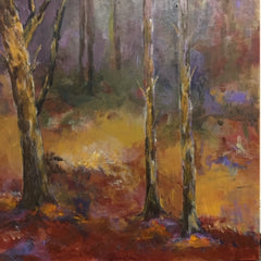 Sylvia deShazo Title: Autumn Woodlands