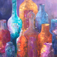 Sylvia deShazo TItle: Magic Bottles