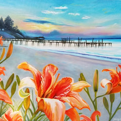 Terry Lacy Title: Daylily Beach