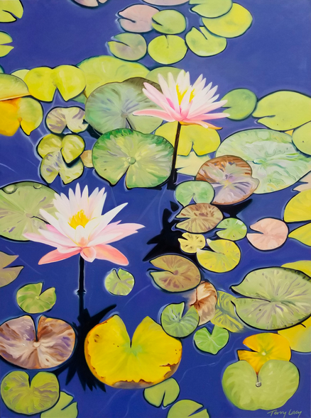 Terry Lacy Title: Water Lilies