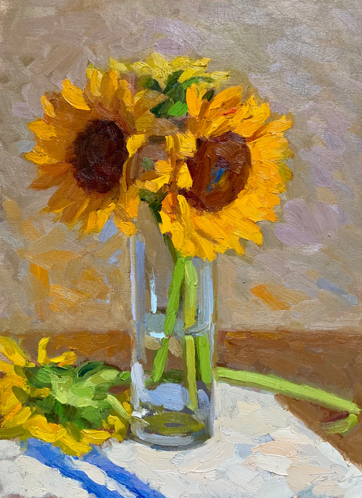 Sowers, Tsvetelina Title: Sunflowers