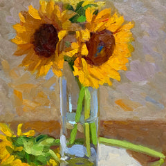Tsvetelina Sowers  Title: Sunflowers