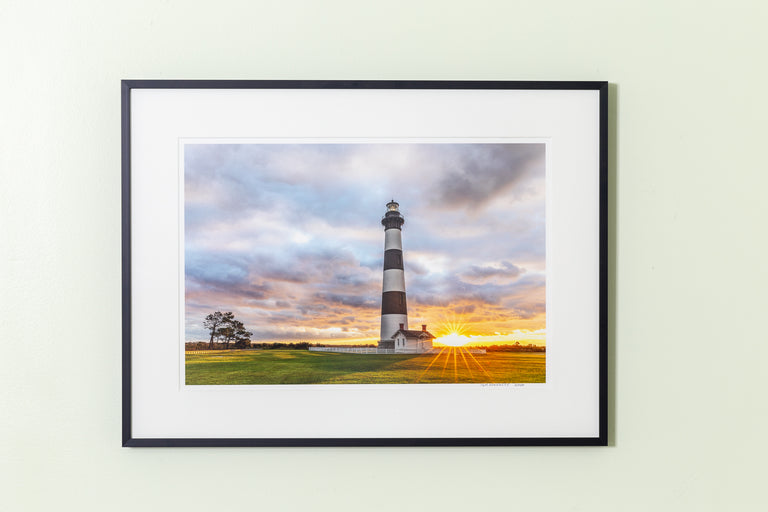 Hennessy, Tom Title: Bodie Island Lighthouse Sunrise