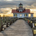 Hennessy, Tom Title:  Roanoke Marshes Lighthouse Sunburst