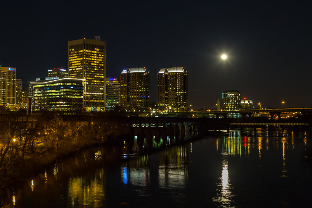 RVA Moonrise