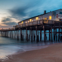 Tom Hennessy Title: Kitty Hawk Pier at Daybreak